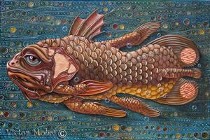 Coelacanth by VictorMolev