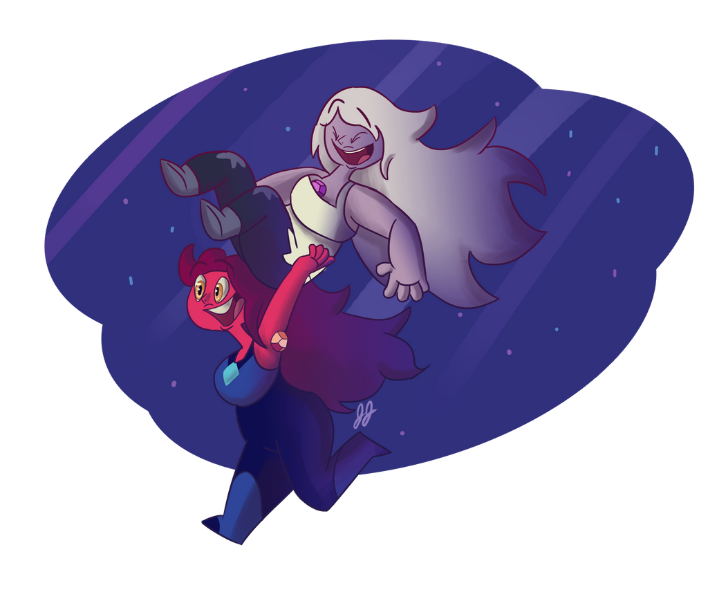 I caught an amethyst by GamzyJam
