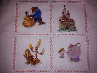 Disney Beauty and the Beast Pillow