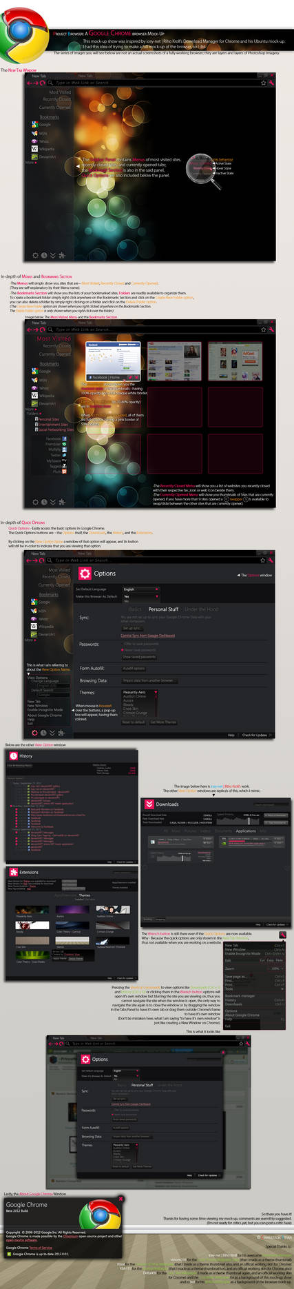 Project Browser: Mock-Up