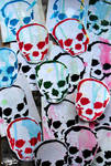 A Bunch o Sticky Skulls by xHaStexo