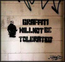 Graffiti Will Not Be Tolerated 01 by xHaStexo