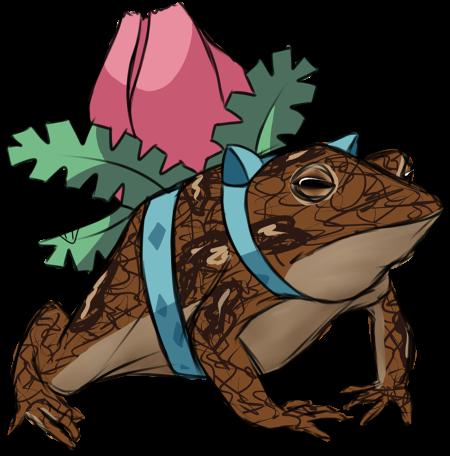 Ivysaur Toad by MTbrainz-XD