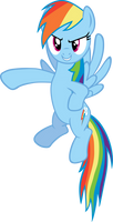 Rainbow Dash points out