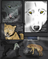 Wolf's Rain Black Light 19 by SilverWolf7444