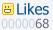 Google Reader Likes Counter by kajire