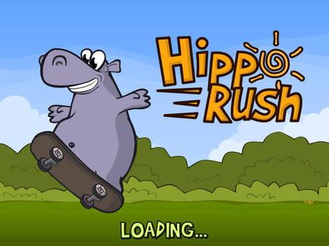 Hippo Rush Splash Screen