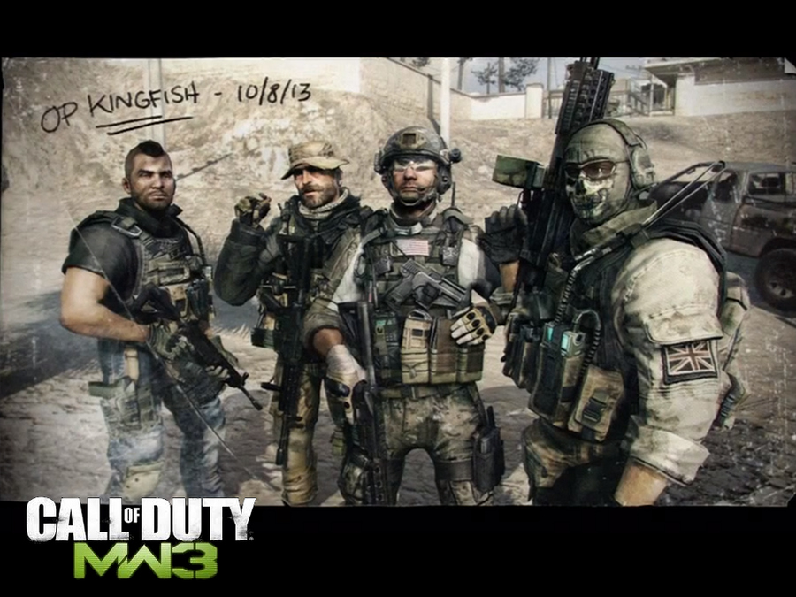 CoD MW3 OP Kingfish Wallpaper By AnbuSakuraChan