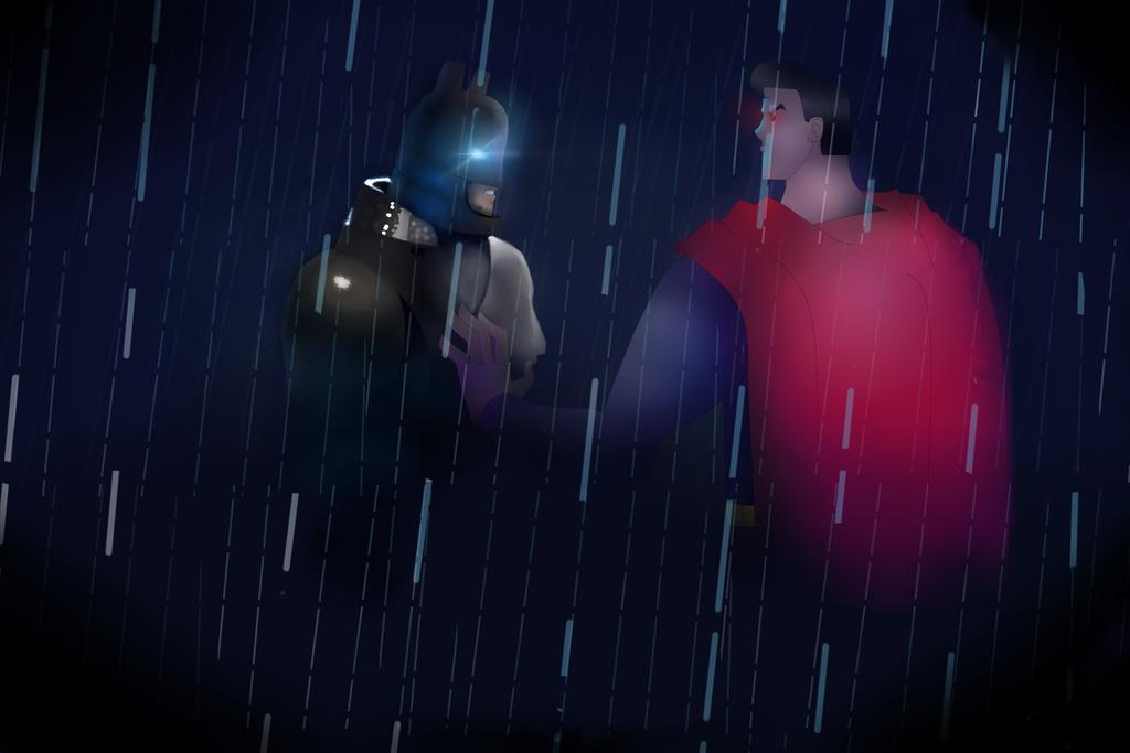 Batman vs Superman Justice League Style by VenomDesenhos
