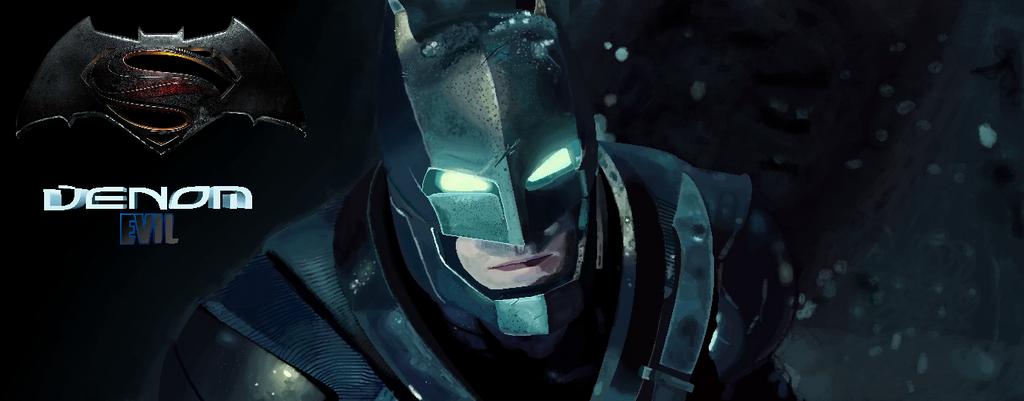 Batman BatmanVsSuperMan in Ms Paint Remake by VenomDesenhos