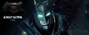Batman BatmanVsSuperMan in Ms Paint Remake