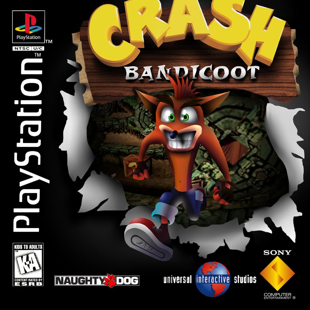 Crash Bandicoot Cover Remake by VenomDesenhos