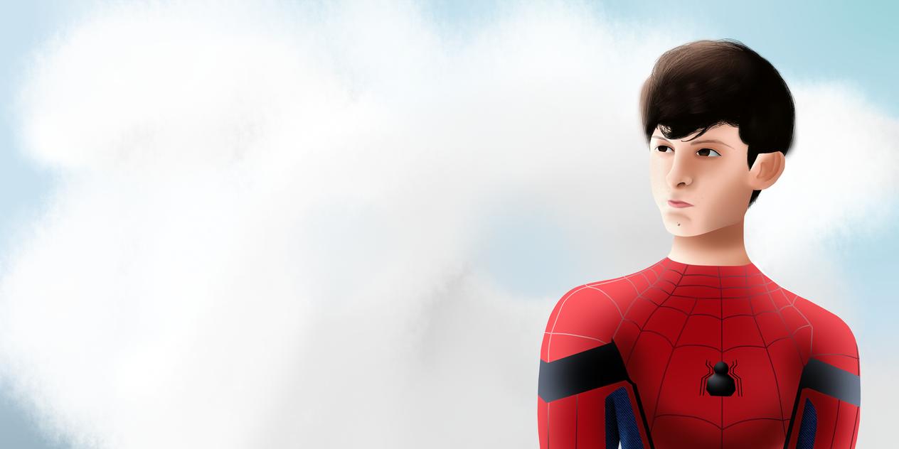 Spider-Man Tom Holland by VenomDesenhos