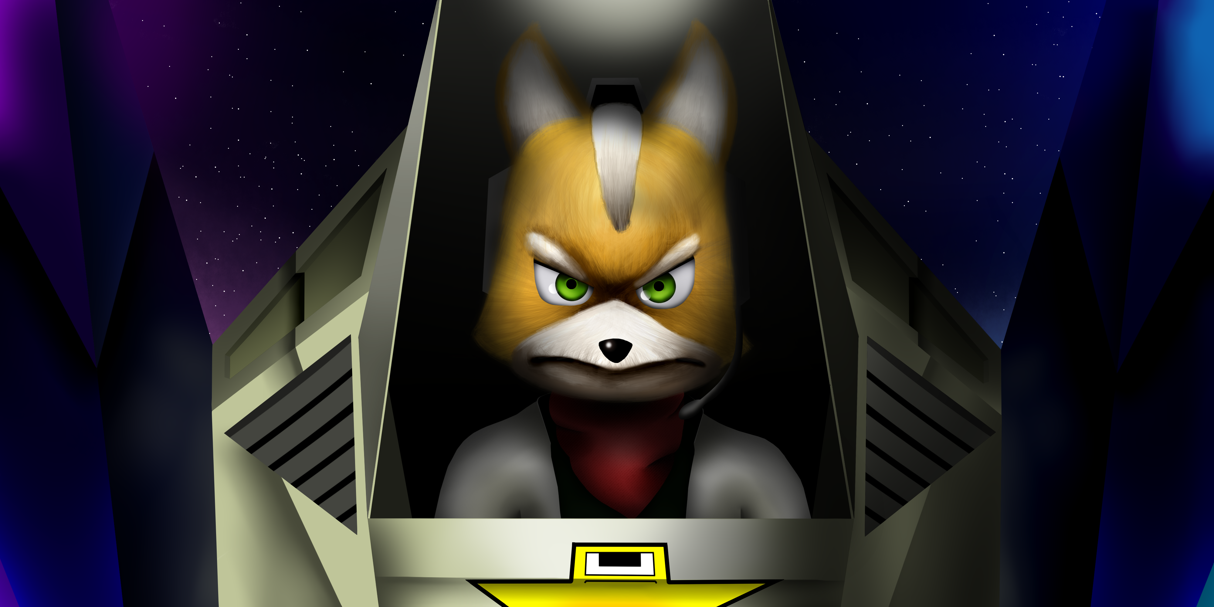 Fox McCloud Star Fox by VenomDesenhos