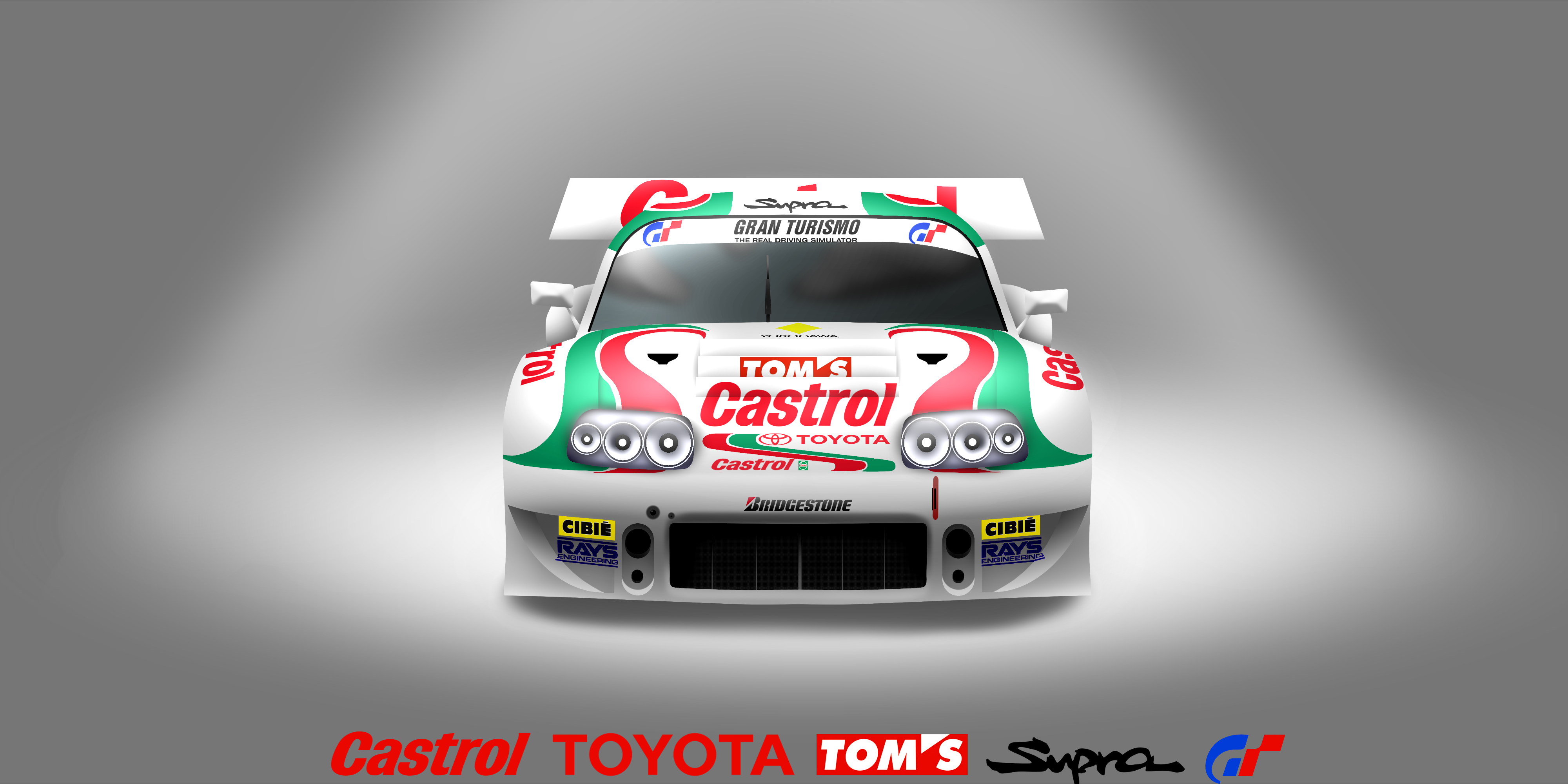 Castrol Toyota Tom's Supra Gt by VenomDesenhos