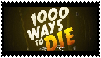 1000 Ways To Die Stamp by waningmoon7