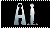 A.I. Artificial Intelligence Stamp by waningmoon7