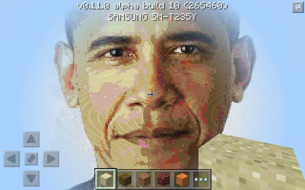 Minecraft Pepixel Of Barrack Obama By Nghtmrrn On DeviantArt - Skin para minecraft pe de obama