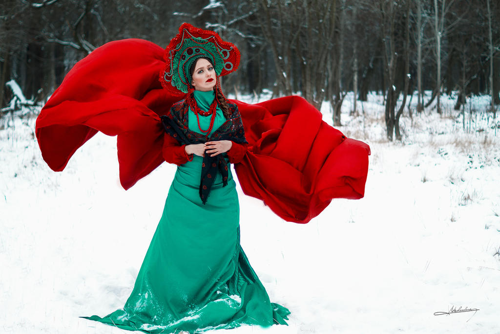 Russian Beauty #1 by Mishkina