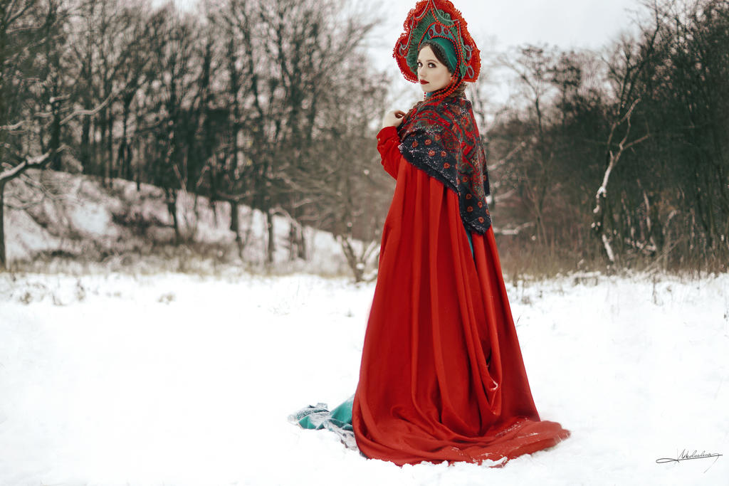 Russian Beauty # 2 by Mishkina