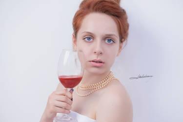 # Red wine by Mishkina