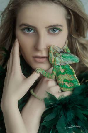 # Chameleon by Mishkina