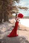 # Red  rose
