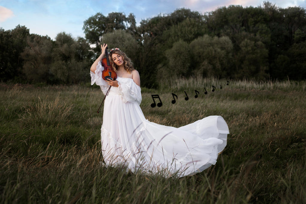 # The Muse of music by Mishkina