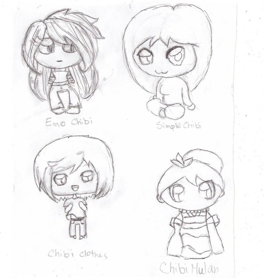 DragoArt chibi drawings by BlackFireOpalDragoart Drawings