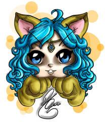 Lizardlea13's chibi art by TMTArtSlave