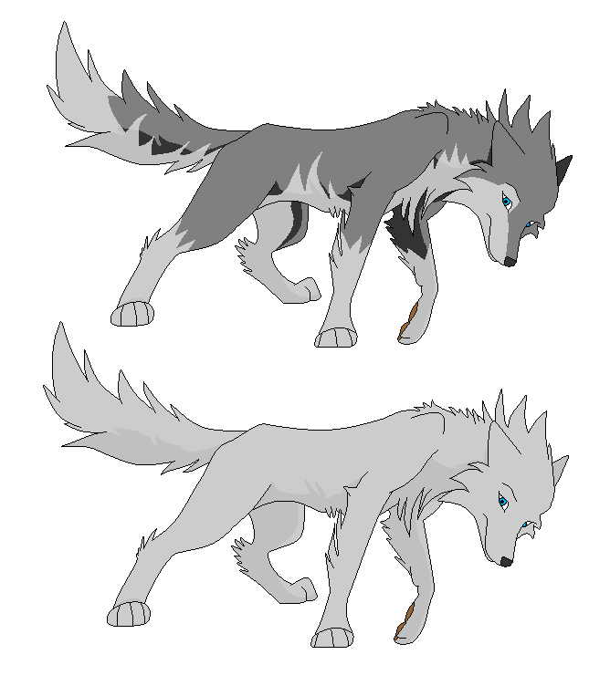 Cartoon wolf coloring pages wolf coloring pages free coloring pages - Wolf Base 15 By Logan38 On Deviantart