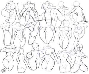 Anatomy female study 4418