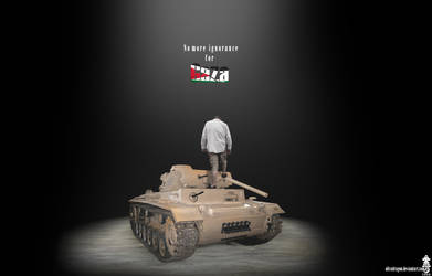 No more ignorance for Gaza by Ultradragon