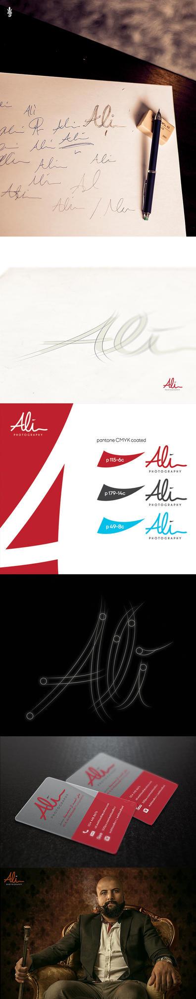Ali Mahfoodh Logo by Ultradragon