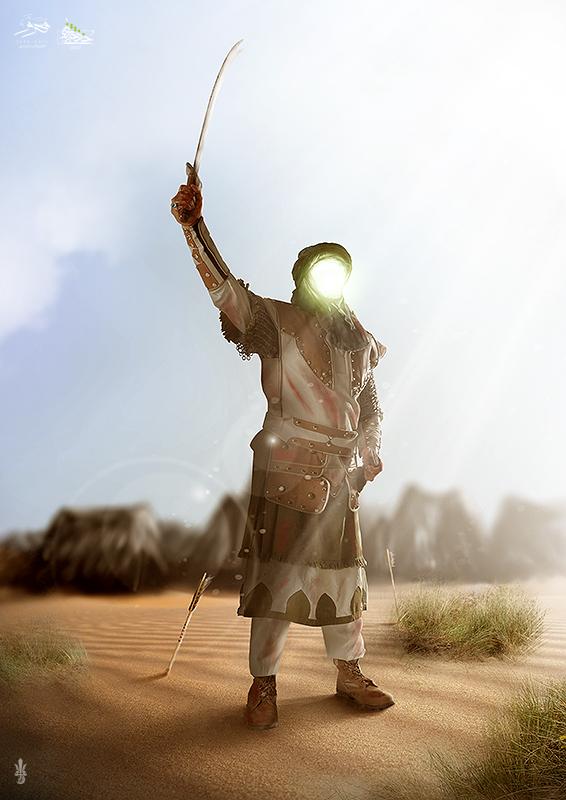 I'm Hussain Ibn Ali by Ultradragon