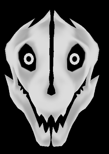 undertale how to draw gaster blaster