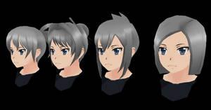 Yandere Simulator: Teacher HairStyles by Druelbozo