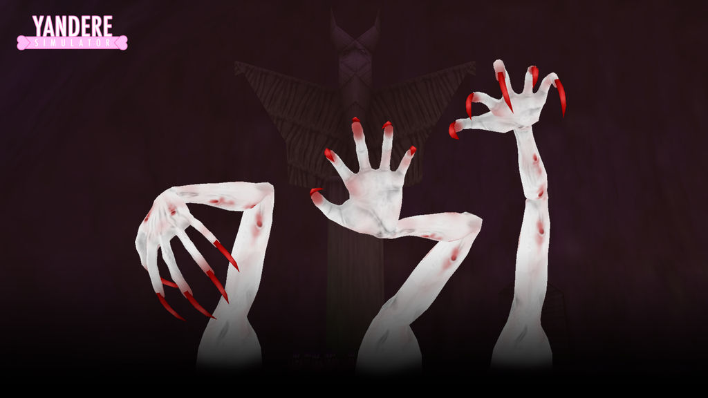 Yandere Simulator: Dead hands