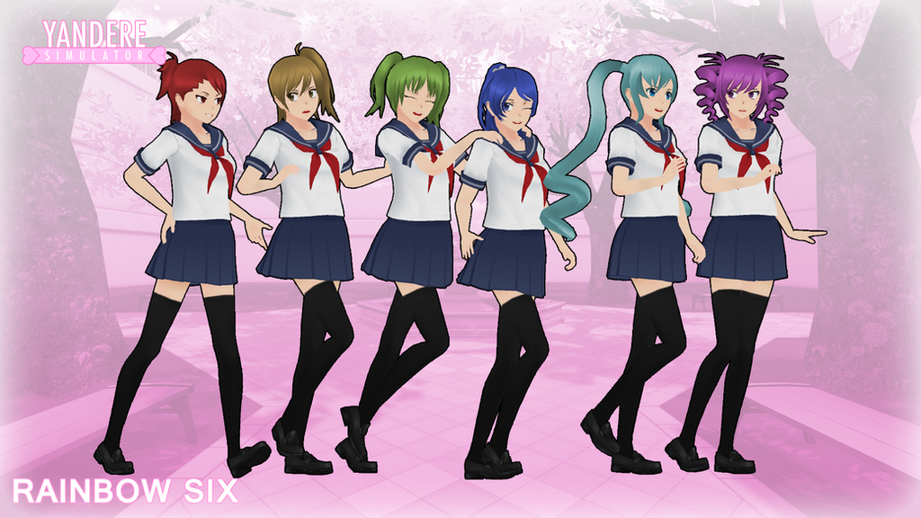 Yandere Simulator Rainbow Six By Druelbozo On Deviantart