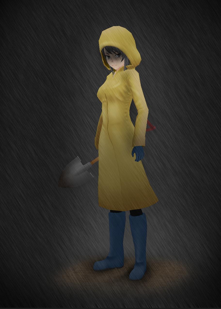 Yandere Simulator: Raincoat
