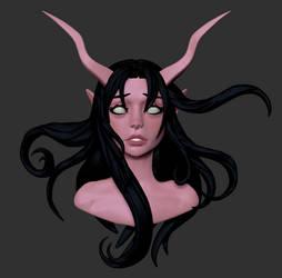 Devil Girl by Druelbozo