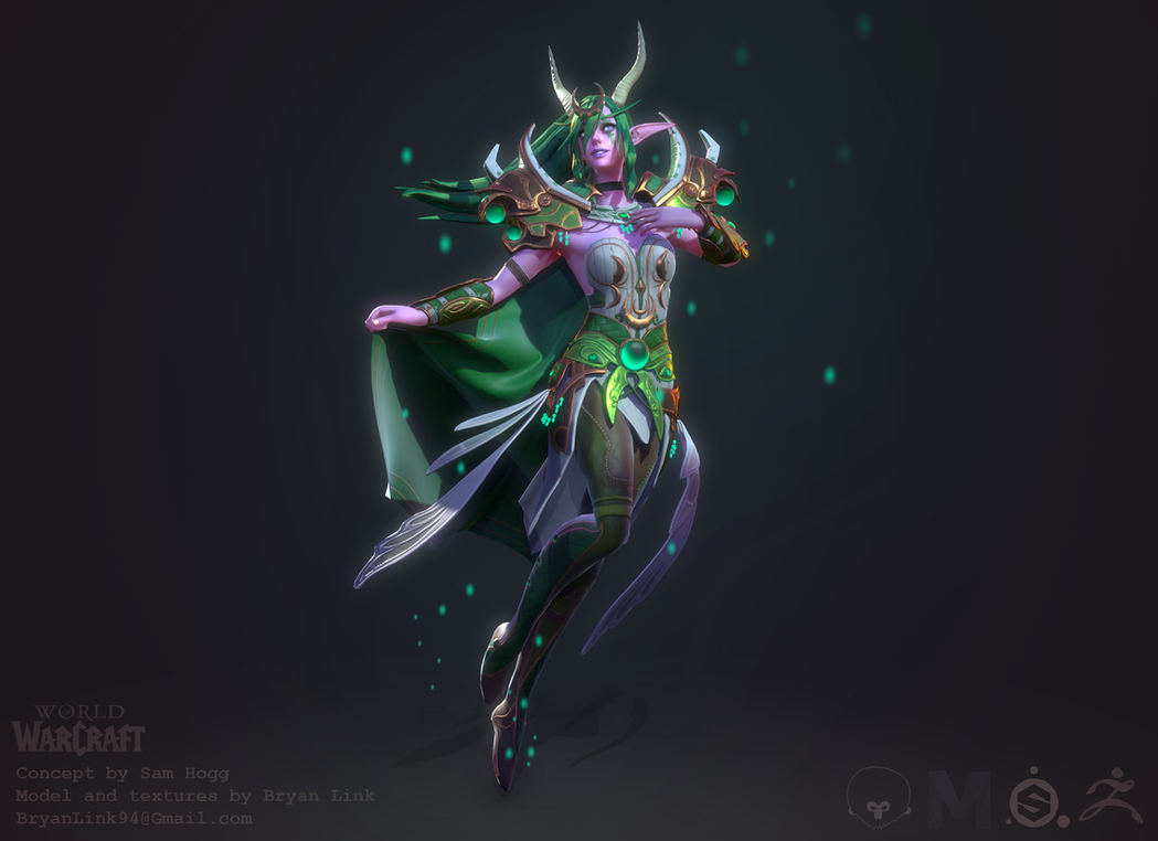 World of Warcraft: Ysera the Dreamer by Druelbozo