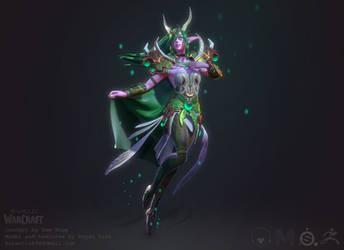 World of Warcraft: Ysera the Dreamer by Druelbozo