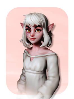Quick Sculpt: ElfGirl
