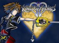 Sora and The Kingdom Hearts by OrangiCat2010
