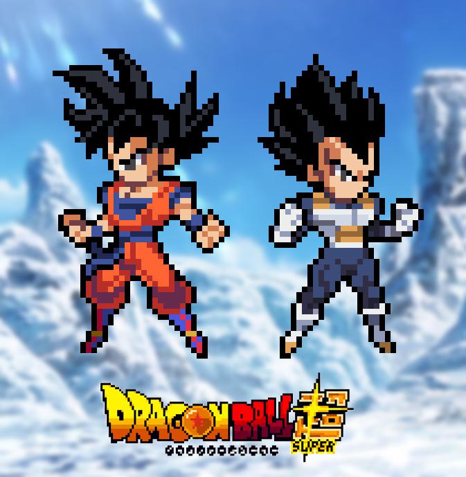 Dragon Ball Super Goku Y Vegeta By Pd Producciones On