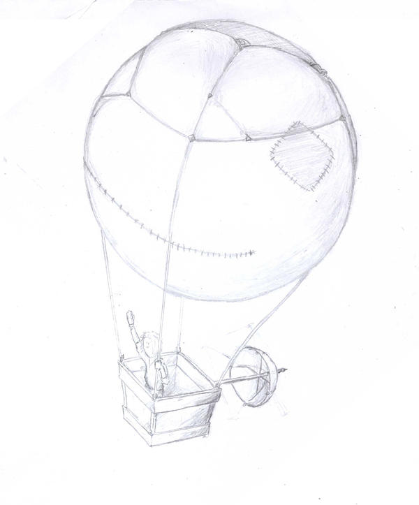 Air ballon by PeterNTange