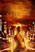 Catching fire movie poster by MrsFoxie
