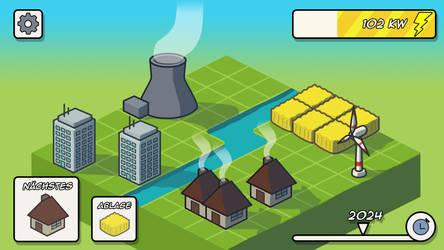 Isocity Game Mockup
