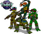 ULTIMATE TMNT Redesign
